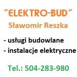 """""""ELEKTRO-BUD"""" SŁAWOMIR RESZKA"""