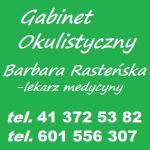 GABINET OKULISTYCZNY LEK. MED. BARBARA RASTEŃSKA OKULISTA KOŃSKIE