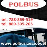 F.U. POLBUS PRZEWÓZ OSÓB WYNAJEM BUSÓW WYNAJEM AUTOKARÓW